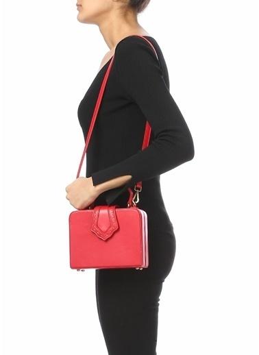 Mehry Mu Messenger / Askılı Çanta Kırmızı